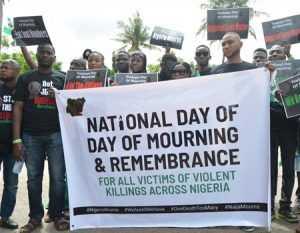 PRESS RELEASE ON NATIONAL DAY OF MOURNING IN REMEMBRANCE FOR ALL VICTIMS OF VIOLENT KILLINGS ACROSS NIGERIA (ZAMFARA STATE)