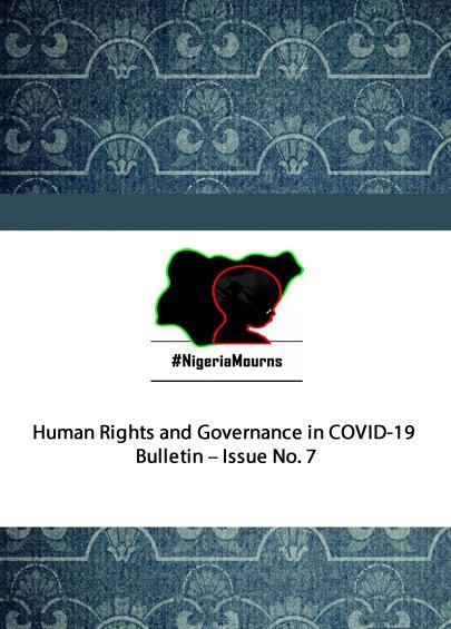 Human Rights and Governance in COVID-19 Bulletin - Issue No. 7