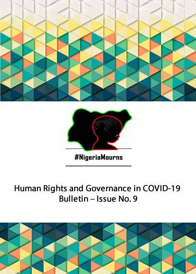 Human Rights and Governance in COVID-19 Bulletin - Issue No. 9